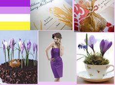 Crocus wedding - Idea for a spring wedding