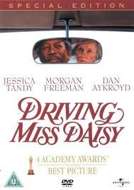 Driving Miss Daisy (1989). [PG] 99 mins. Starring: Jessica Tandy, Morgan Freeman, Dan Aykroyd, Esther Rolle and Patti Lupone