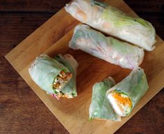 The Wandering Girl: Spring Roll !