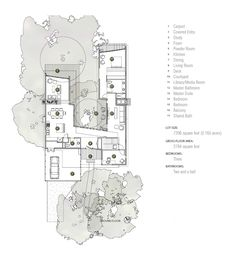 Image 22 of 31 from gallery of Tree House / Matt Fajkus Architecture. Ground Floor Plan