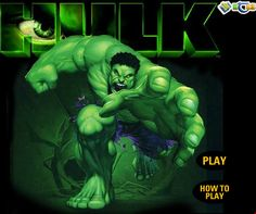 When speaking of web based games, all these are certainly one of the best previous time in their own view well thought-out. There are 1000's of elderly and youthful folks of age group who be amazing on to play hulk games on the internet.