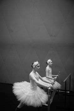 Queensland Ballet's Swan Lake backstage