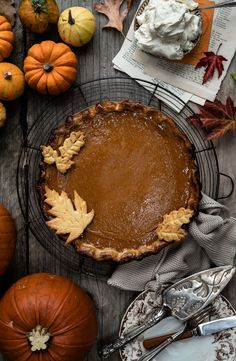This foolproof pumpkin pie is perfect for Thanksgiving – rich, silky and delicious. Make your pastry from scratch or use a store-bought pie shell. Pumpkin Pie From Scratch, Best Pumpkin Pie Recipe, Homemade Pumpkin Pie, Pumpkin Recipes, Martha Stewart Thanksgiving, Thanksgiving Recipes, Pumpkin Dessert, Pumpkin Cheesecake, Yummy Things To Bake