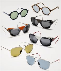 2e72fd69a8d8 Divisive designer Thom Browne teams up with Dita Eyewear Glasses 2014