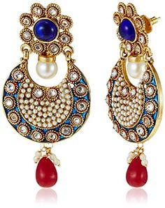Ava Traditional Drop Earrings (Blue) (E-SD-J1008) Ava http://www.amazon.in/dp/B0168782VW/ref=as_li_tl?ie=UTF8&camp=3626&creative=24790&creativeASIN=8183071007&linkCode=as2&tag=mehndi-21