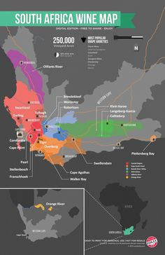 """Africa Wine Map South African Wine Map """"The Marketplace for Adults with Taste!"""" South African Wine Map """"The Marketplace for Adults with Taste!"""