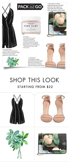 """Labor Day"" by eirini-kastrou on Polyvore featuring Stuart Weitzman, Ted Baker and Herbivore"