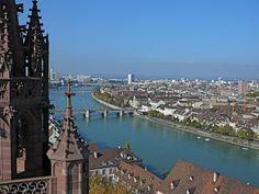 Switzerland, VIEW FROM MARTINSTURM  http://www.designsponge.com/2012/06/basel-switzerland-city-guide.html#