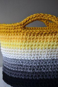 Crochet in Color: ombre colorido, combinação de cores