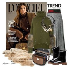 """""""WINTER TIME"""" by mariapia65 ❤ liked on Polyvore featuring Fendi, UGG, Sally Lapointe, Marni, winterstyle, wintertrend and winter2017"""
