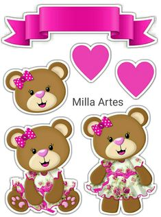 Chá de fraldas Macaron Template, Bear Clipart, Blue Nose Friends, Baby Shawer, Paper Cake, Giant Paper Flowers, 3d Cards, Decoupage Paper, Mothers Day Crafts