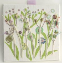 Flower Meadow canvas £12.00