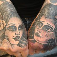 blackwork cholo tattoo cholo girl tattoo gangster tattoo west coast style tattoo latino tattoos  loo pimble loopimble traditional tattoo artist orlando tattoo artist traditional americana black work blackwork