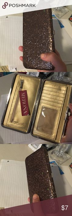 Beautiful clutch NWT clutch from target, got as a gift never used make offers! Not actually Michael kors MICHAEL Michael Kors Bags Clutches & Wristlets