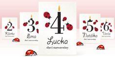 Ladybug Birthday Invitations, Free Printables, Templates, Kids, Young Children, Stencils, Boys, Free Printable, Vorlage