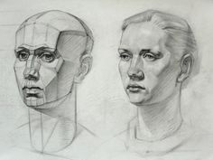 A study after a russian book on drawing, by prof. Mogilevtsev, from the Art Academy of St. Petersbourg, Repin. 2011 www.rasmusaagaard.com