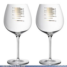 Music FAILS: Musical Wine Glasses to Play as You Get Drunk