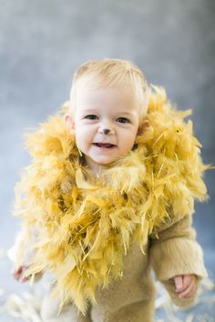 Baby Grey as a circus lion: http://www.stylemepretty.com/living/2015/10/07/diy-halloween-costume-circus-lion/ | Photography: Ruth Eileen - http://rutheileenphotography.com/