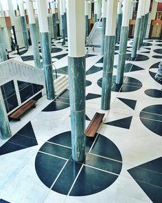 Australia's Parliament House, designed by the Italian-born architect, Romaldo Giurgola