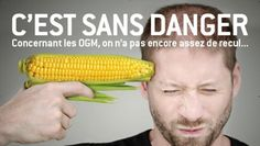 Striking image in French ad warning against GMOs. Very clever, and delivers message clearly. —km