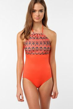 Take me to a resort!               Geo Colorblock One-Piece Swimsuit      $69.00