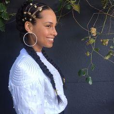 Alicia Keys and Mila J. Show Off Braids   Essence.com