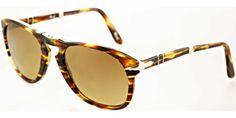 Persol PO 0714 938/81 Army Polarised/Photochromic Persol Sunglasses | Persol Eyewear | Designer Sunglasses | UK