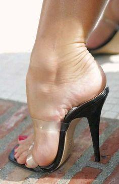 "goddesstasha: "" sexy sandals Goddess Tasha Only High Heels "" Open Toe High Heels, Hot High Heels, High Heel Boots, High Heels Outfit, Sexy Sandals, Sandal Heels, Sexy Toes, Female Feet, Women's Feet"