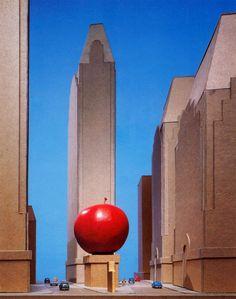 "Venturi, Rauch & Scott Brown, Times Square Plaza Design, ""The Big Apple"", New York, 1984"