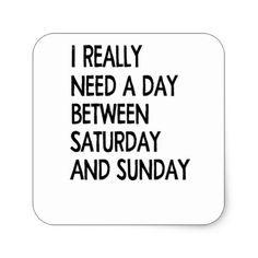 #weekend square sticker - #saturday #saturdays