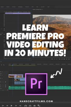 Editing videos doesn't have to be overwhelming or difficult. In this quick 20 minute video tutorial we will take you step by step through the entirety of how to start editing your first videos using Adobe Premiere Pro. Adobe Premiere Pro, Youtube Editing, Video Editing, Photography And Videography, Photography Editing, Film Tips, Editing Apps, Educational Websites, Ms Gs