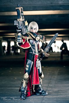 Cosplay warhammer 40000 Japan Expo 12 2011 by flexgraph, via Flickr
