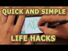 Quick and Simple Life Hacks - Part 1by householdhacker: 10 simple tricks you may not have thought of! #Life_Hacks #householdhacker