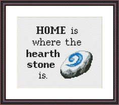 World of Warcraft Hearthstone Cross Stitch Pattern | Craftsy