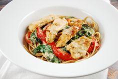 Olive Garden's Tuscan Chicken Recipe - 9 Points + - LaaLoosh