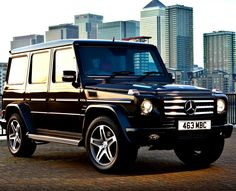 Mercedes Benz G-Class SUV This baby will be mine one day!