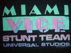 Miami Vice Stunt Team Universal Hollywood
