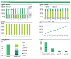 Financial model template for a poultry farm in Excel - detailed ...
