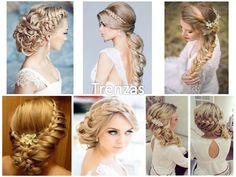 74 Ideas de Peinados para Bodas de todo tipos de cabellos y gustos Dreadlocks, Hair Styles, Beauty, Weddings, Ideas, Fashion, Wedding Hair Styles, Plaits Hairstyles, Wedding Photoshoot