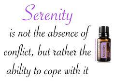 Wednesday Wisdom  🌸 Essential Oil Inspiration  🌸 Serenity