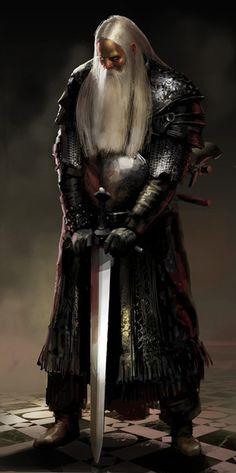 Frohr in his Elder years, ready to defend the Gate of Du Dras-Skolir from the Uruk Hordes