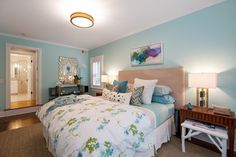 Shutters in my bedroomRadiant heating warms the light-filled master suite. Photo: Open Homes Photography