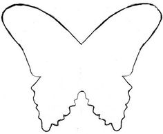 butterfly birthday cake template printable - templates on pinterest templates tea pots and butterfly
