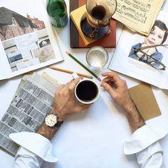 Správny čas na kávu s hodinkami Fossil. http://www.1010.sk/c/panske-hodinky-fossil/