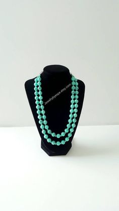 Hey, I found this really awesome Etsy listing at https://www.etsy.com/listing/286749223/mint-necklaceturquoise-necklaceaqua