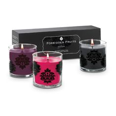 Forbidden Fruits by PartyLite™ Scented Candle – Blackberry Boudoir