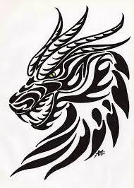 Image result for dragon tattoo design