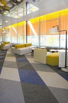 Bolon woven vinyl flooring - I saw these at designjunction 100% design london