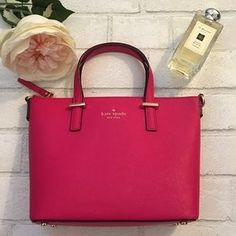 I just discovered this while shopping on Poshmark: Kate Spade Crossbody Harmony Handbag in Sweetheart. Check it out! Price: $225 Size: OS