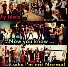 Hahaha. I love these people to the moon and back. #R5family